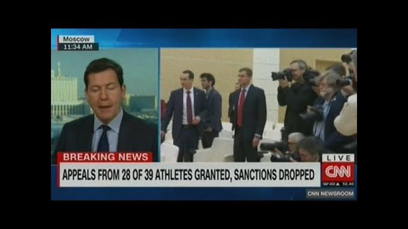 CNN шокирующее решение спортивного арбитража в России расценят как крупную п