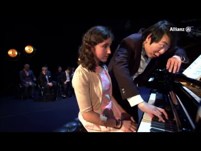 Lang Lang 郎朗 John Field Nocturne 4 in A dur Master class with the kids 2016 Part 3