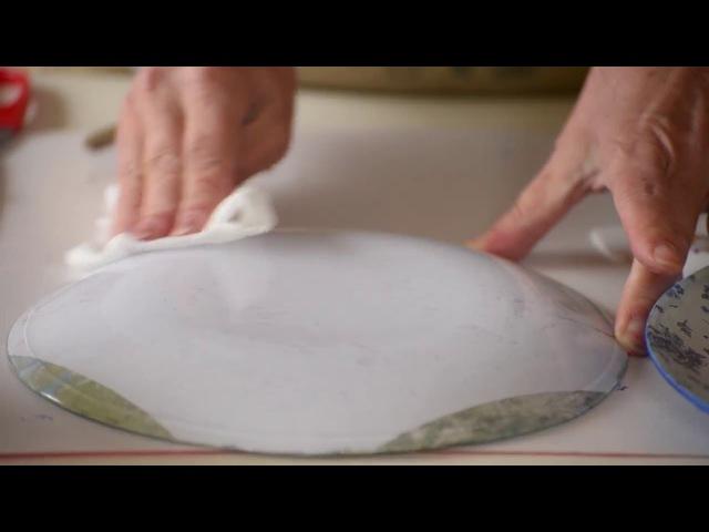 как сделать надежный подвес для тарелки