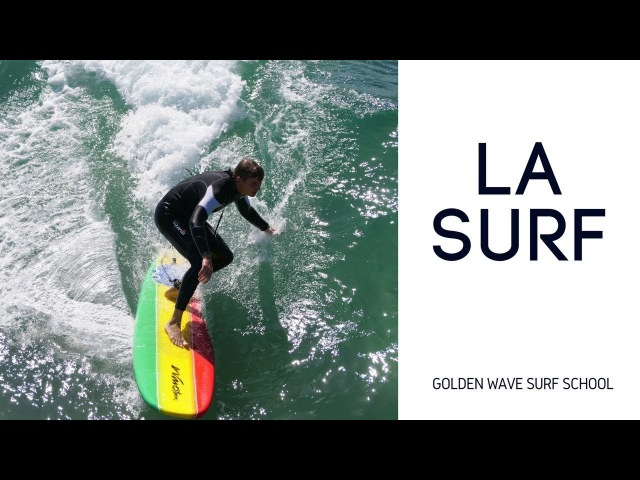 Серфинг на пляже Венис ☆ Школа Серфинга в Лос Анджелесе Golden Wave Surf School