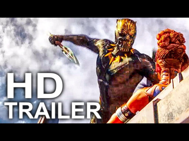 BLACK PANTHER Trailer 4 NEW (2018) Superhero Movie HD