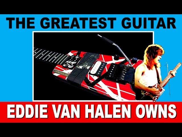 The Greatest Guitar Eddie Van Halen Owns Steinberger 5150 GL2T