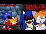 SONIC.EXE SPIRITS OF HELL Demo - TAILS SURVIVES (Good Choice Ending)