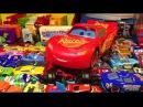 Игрушки Машинки Тачки 3 Молния Маккуин Много Машинок Дисней Видео для Детей