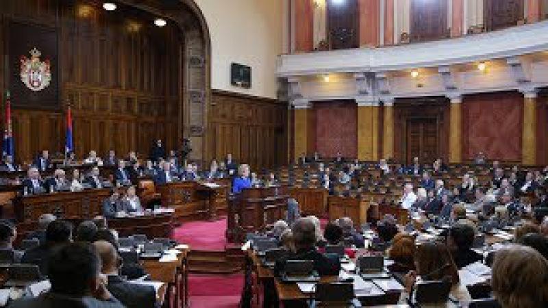 Выступление В. Матвиенко на пленарном заседании Народной скупщины Сербии
