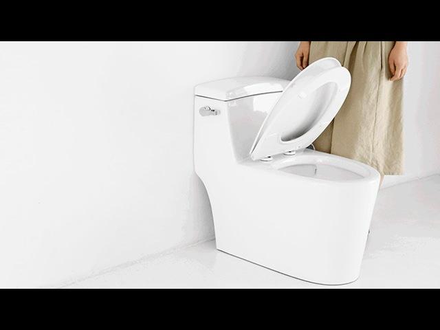Комфортное сидение для унитаза Xiaomi Small Whale Warm Seat с подогревом