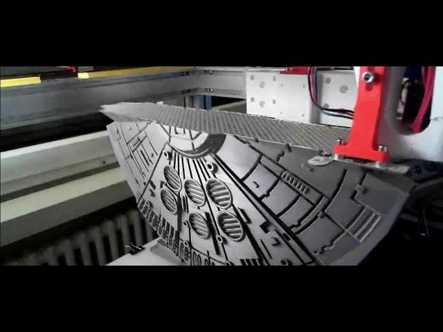 3D-Printed Fillenium Malcon (Timelapse)