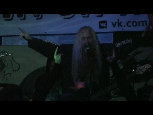 Splatterums Hand Of God Live In Ludvig Kimry 14 10 2017