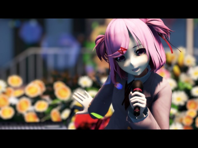 【MMD DDLC】World Is Mine 『Natsuki』