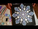 How to paint dot mandalas with Kristin Uhrig- 29 Snowflake