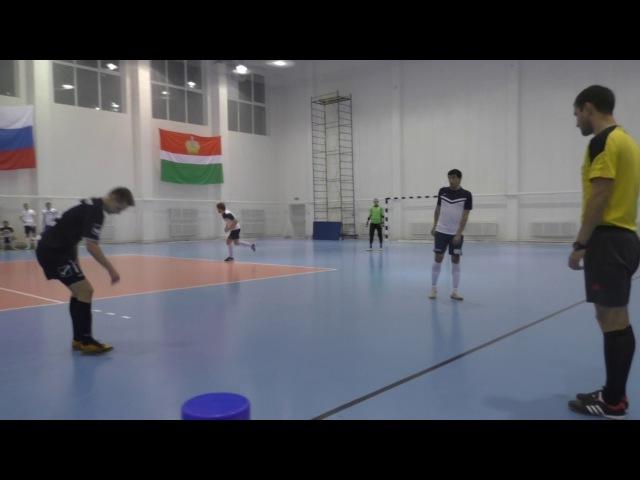 ФК «Тактика» - ФК «BazaCity» - 1 тайм
