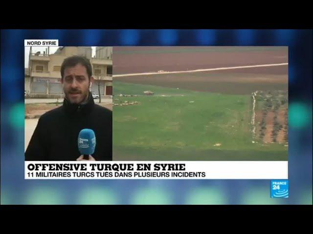 Syrie: onze militaires turcs tués dans les opérations contre les Kurdes