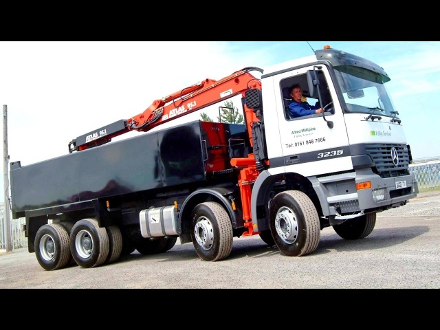 Mercedes Benz Actros 3235 UK spec MP1 04 1997 10 2002