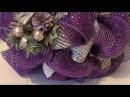 Ideas de decoración de Navidad en morado