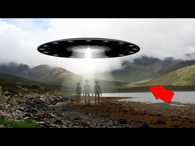 Mysterious Island Spotted With UFO Aliens!! UFO Sightings 2018!!