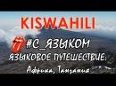🗻🌴ЯЗЫКОВОЕ ПУТЕШЕСТВИЕ: Африка, Танзания. СУАХИЛИ