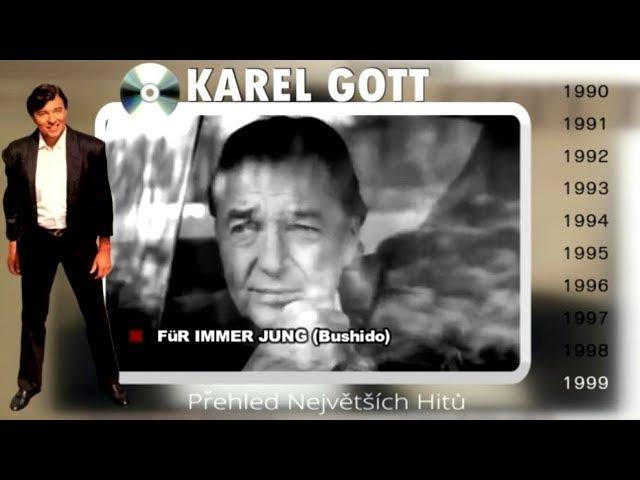 KAREL GOTT ★ Přehled největších hitů 45 ★ (90s)