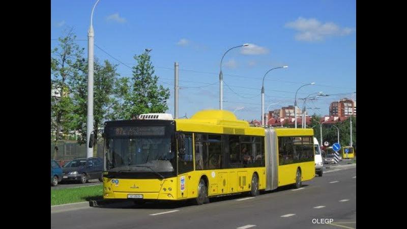 Поездка на автобусе МАЗ-215,гос.№ АН 8909-7