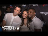 'DWTS' Vanessa Lachey On Training 'Like An Athlete' With Maks &amp Competing Against Nick Lachey