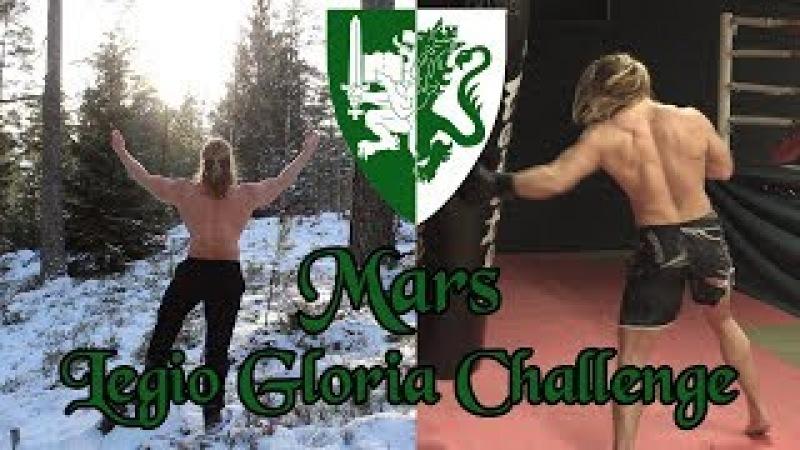 Training in Jotunheim. The Mars Challenge. Legio Gloria Challenge: March. Part 1