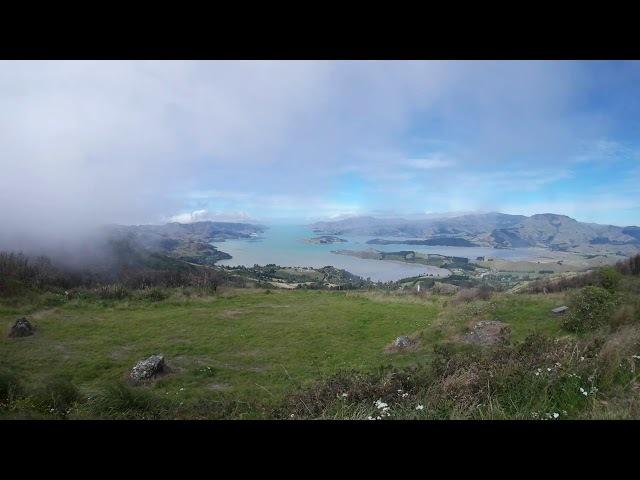 Clouds around Banks Peninsula