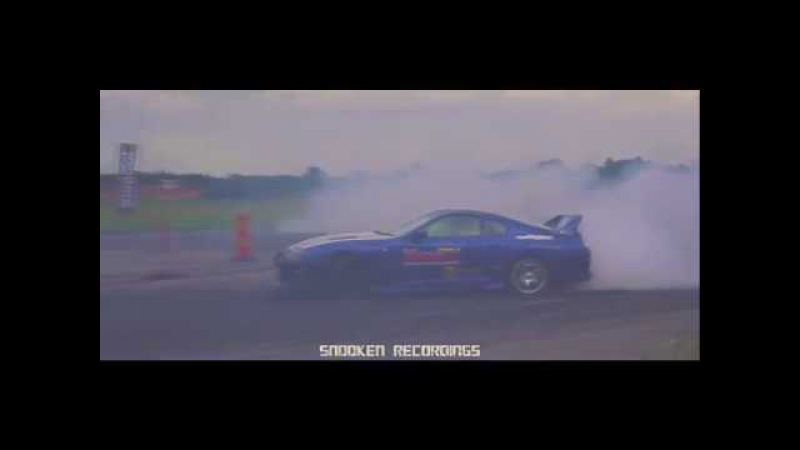 Supra 1000whp burnout and drifting