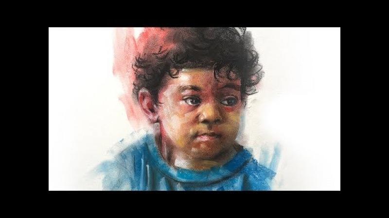 Pastel portrait | Pastel Painting | Pastel Drawing | Portrait painting | Prashant Sarkar