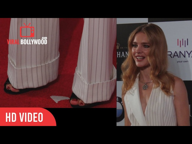 Natalia Vodianova at Vogue Women Of The Year Awards 2017| wins Global Philanthropist and Style Icon