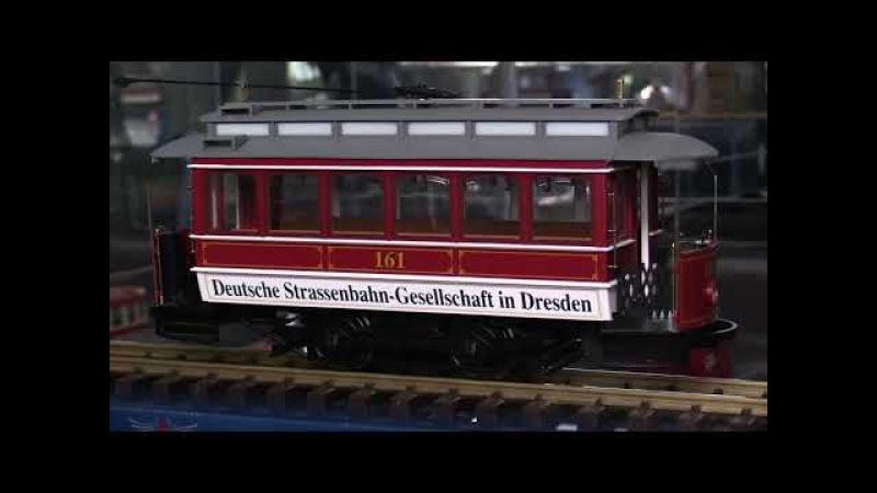 Модели трамваев Trailer DRESDEN-Strassenbah ,Chicago Surface Lines - Peter Witt Streetcar