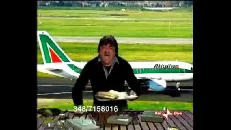 Roberto Da Crema Baffo TELEVENDITA ALITALIA (Scorie 2008)