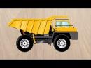 Спецтехника для детей. Мультик про самосвал, трактор, экскаватор, бетономешалку,...