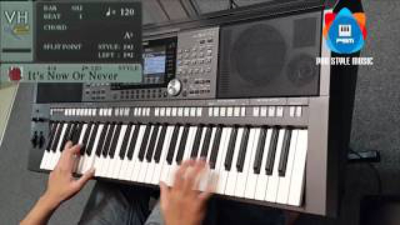 It's Now or Never Yamaha keyboard