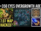 Map Hacked! Aghanims Treant +350 AOE for Eyes Wagamama Dota 2