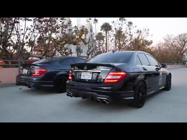 How to Terrorize Beverly Hills: Buy an AMG! Revs, pulls, exhaust notes and more!