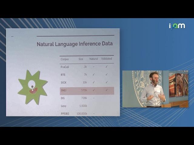 Sam Bowman: Toward natural language semantics in learned representations