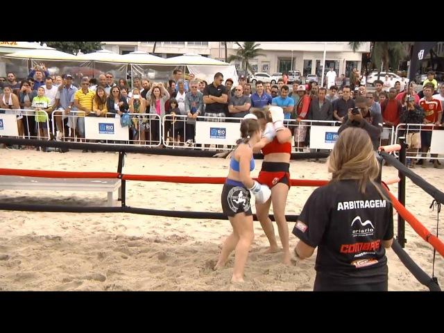 Boxe de Praia - FEBOP - Copacabana 2016 - Luta 03