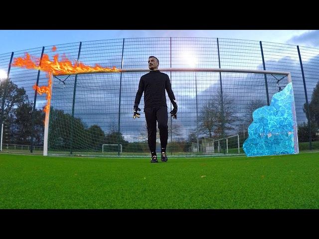 Pierre Emerick Aubameyang vs little goalkeeper