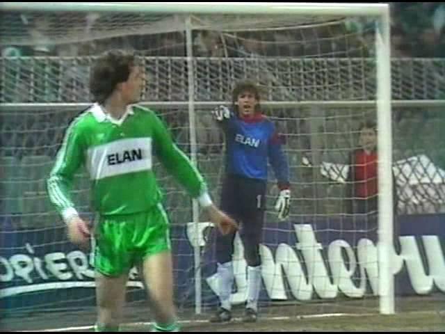 1985-86 UEFA Cup Winner's Cup - Rapid Wien v. Dynamo Kyiv