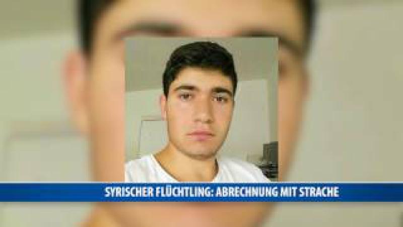 Syrischer Flüchtling Aras Bacho rechnet mit Strache ab