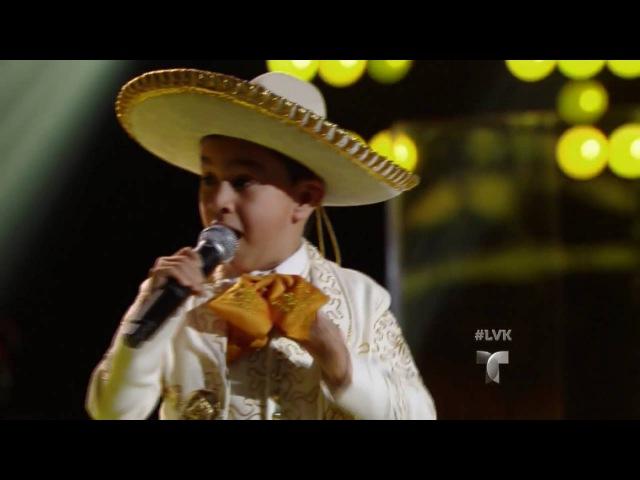 Jossue deja sin palabras a Natalia Jiménez | Audiciones | La Voz Kids 2016