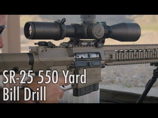 550 Yard Bill Drill with Knights Armament SR-25 .308