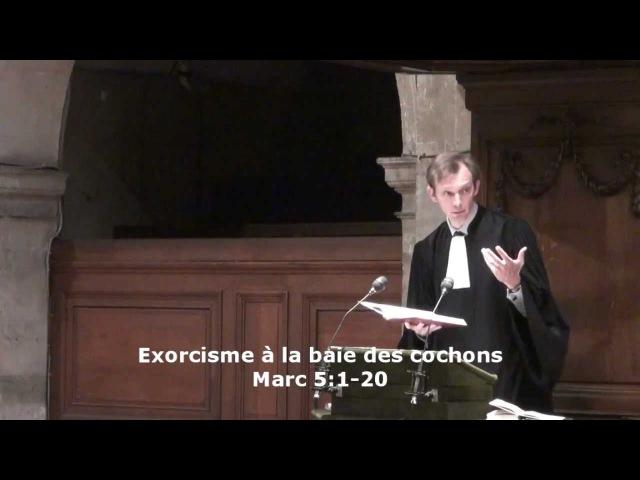Exorcisme à la baie des cochons (Marc 51-20)