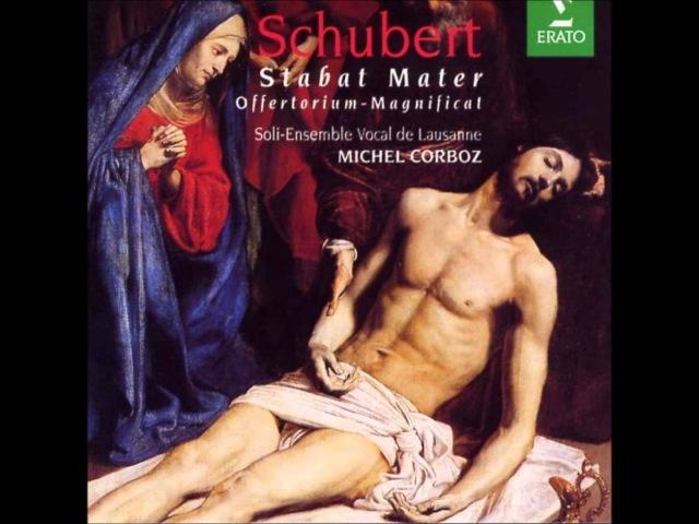 Franz Schubert Stabat Mater in F minor D. 383--Chorus (Jesus Christus schwebt am Kreuze)