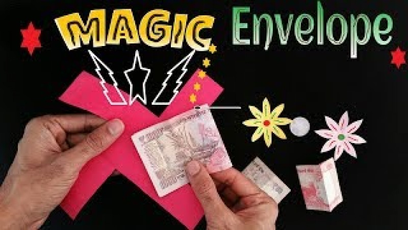 Magic Envelope (everybody can do this trick) - DIY Tutorial by oneman p
