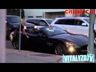 Пикап на дорогой и дешевой машине - девушку отшили (пранк Vitalyzdtv)