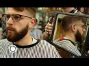 THICK HAIR SKIN FADE | Men's Haircut Beard Trim Tutorial