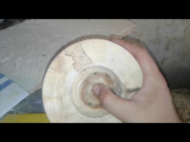 Токарный патрон из дерева