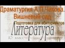 Драматургия А П Чехова Вишневый сад Литература 10 класс Подготовка для абитуриентов