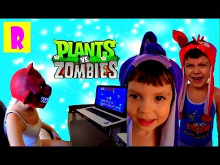 BAD BABY КАК ДОСТАТЬ СОСЕДА FREDDY FNAF #3 FREDDY Фокси plays in Plants vs  Zombies HappyRoma