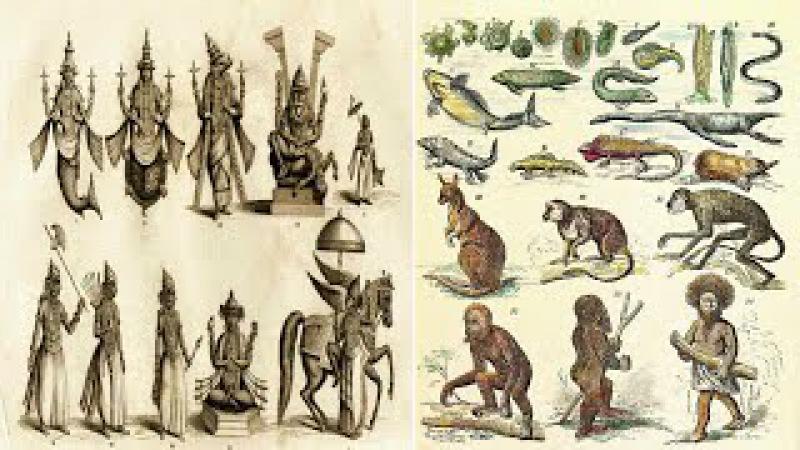 Hinduism - 10 Avatars of Vishnu and Darwin's Theory of Evolution - Parallels
